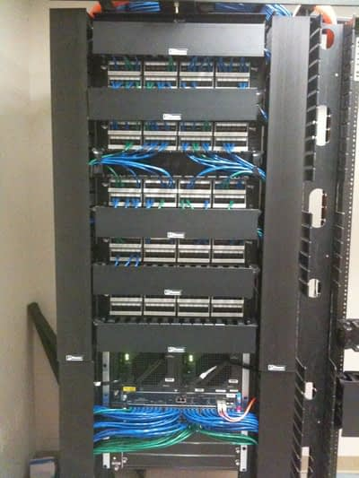 Data Rack Cabling
